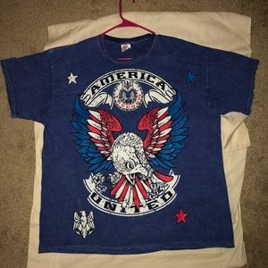 Vintage Beautiful double sided  eagle T-shirt!🔥🔥